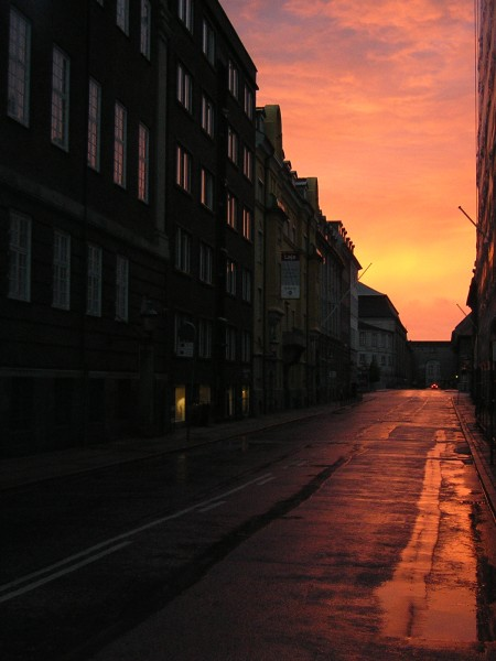 Morning Dawn in Kopenhagen/Dänemark, Juni 2004