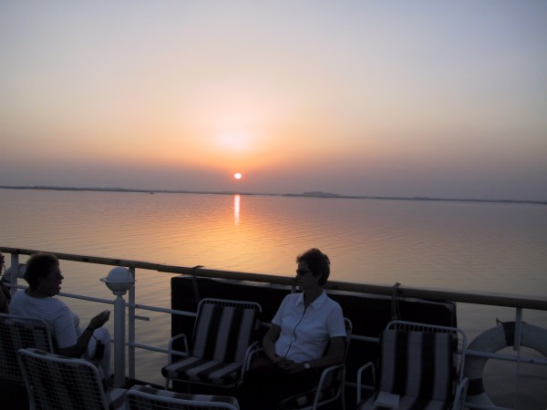 Sunset am Nil